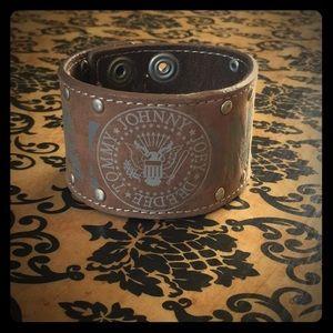 Jewelry - The Ramones Leather Bracelet